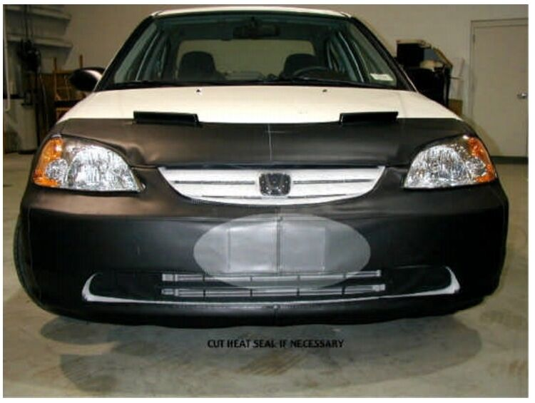 lebra front end mask bra fits honda civic 2001 2002 03. Black Bedroom Furniture Sets. Home Design Ideas