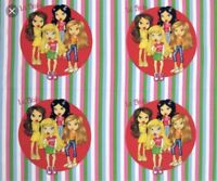 BRATZ BARBIE DOLL PILLOW PANEL COTTON FABRIC BTY
