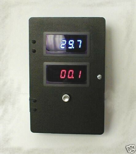 12 Volt Panel Meter : Volts amps dc digital dual led panel meter ebay