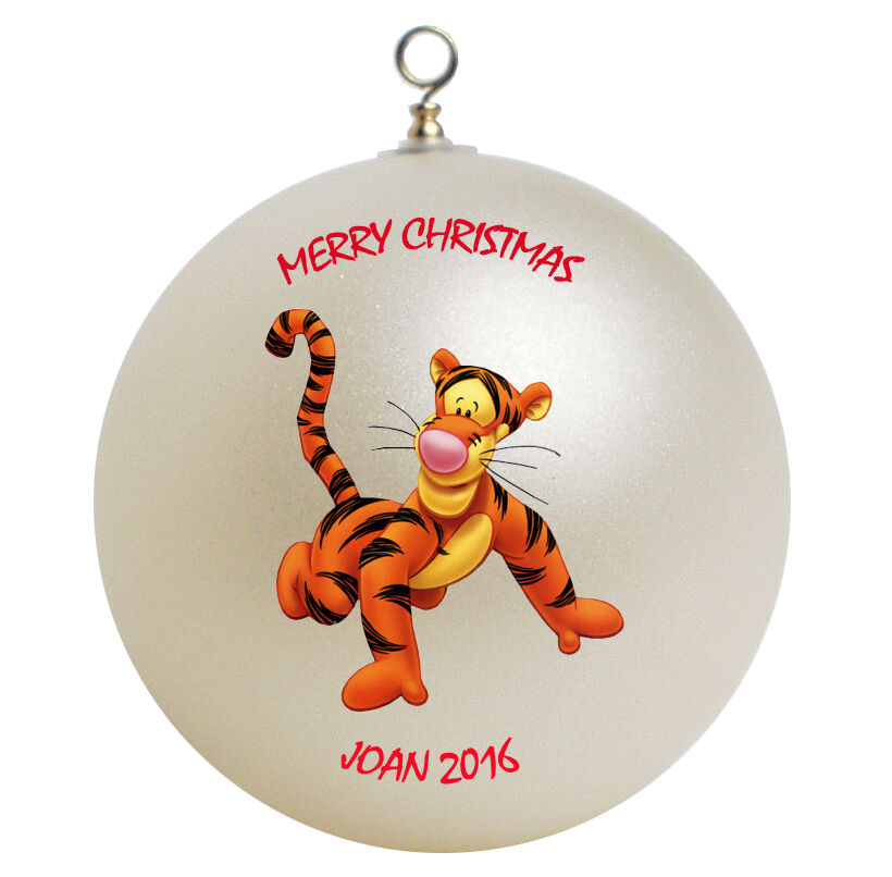 Personalized Winnie the Pooh Tigger Christmas Ornament | eBay