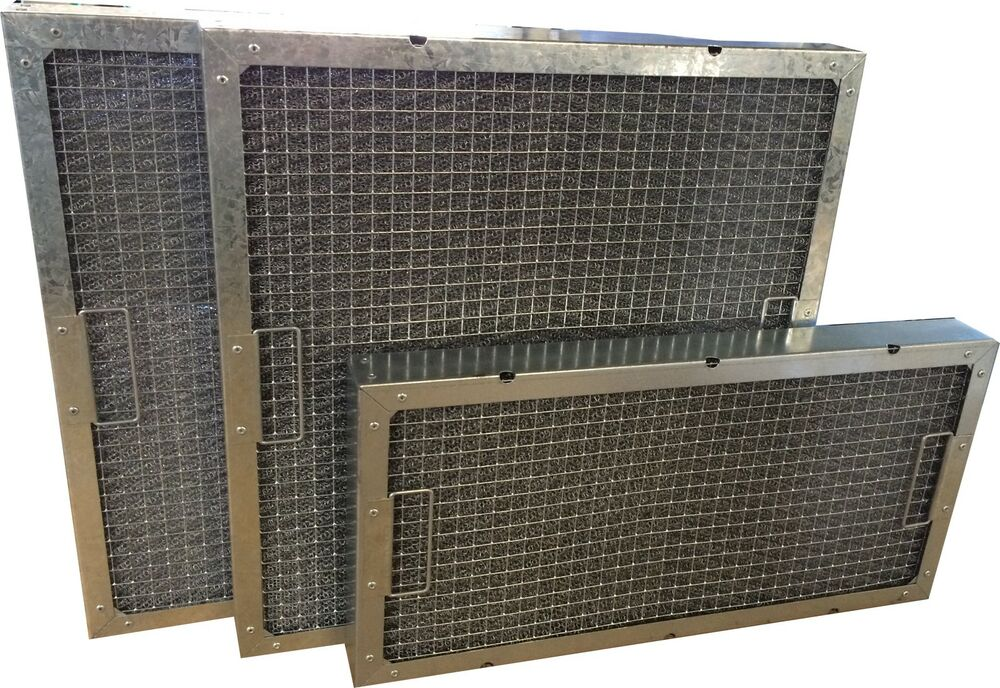 """Mesh Kitchen Canopy Grease Filters 24x24x2"""""""