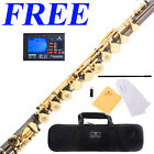 Cecilio FE-380BNG Black/Gold Open-Hole C FLUTE w/B-Foot