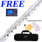 Cecilio FE-282S Advance Silver Plated Open-Hole C FLUTE