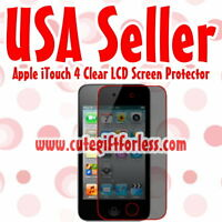 Clear Screen Protector Apple iPod iTouch 4 4th Gen 4G