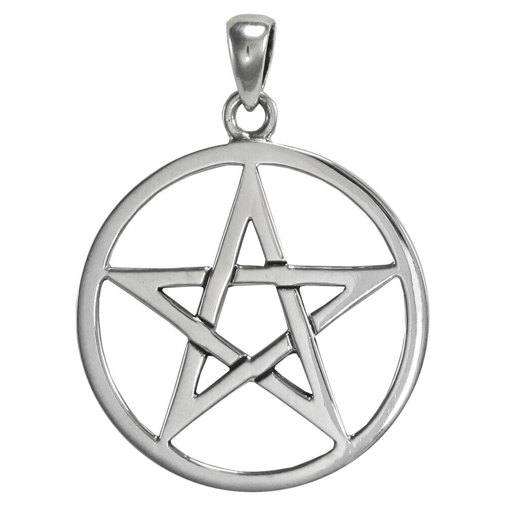 pentagrams jewelry sterling silver pentacle pendant wiccan pagan jewelry ebay 2501