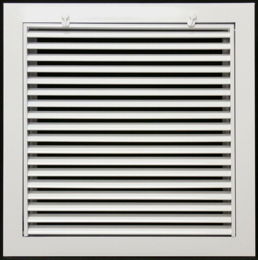 Linear Return Grilles : Quot return air filter grille with included ebay