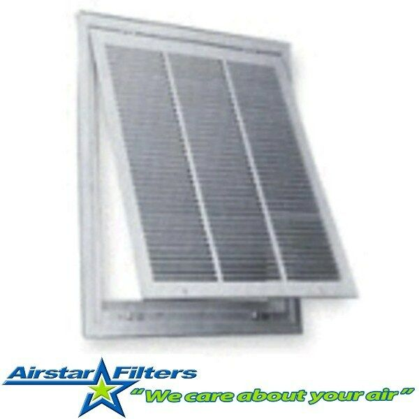 24 14 Air Return : Quot return air filter grille with included ebay