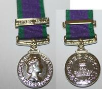 GENERAL SERVICE MEDAL NORTHERN IRELAND MINI MEDAL NEW