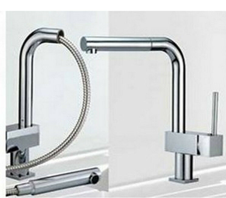 Faucet Basin & Kitchen Pull Out Spray Mixer Tap JN 8532