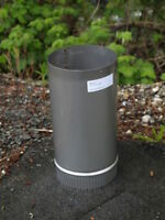 5'' X 6'' Long Stainless Steel Stove Pipe (Liner)