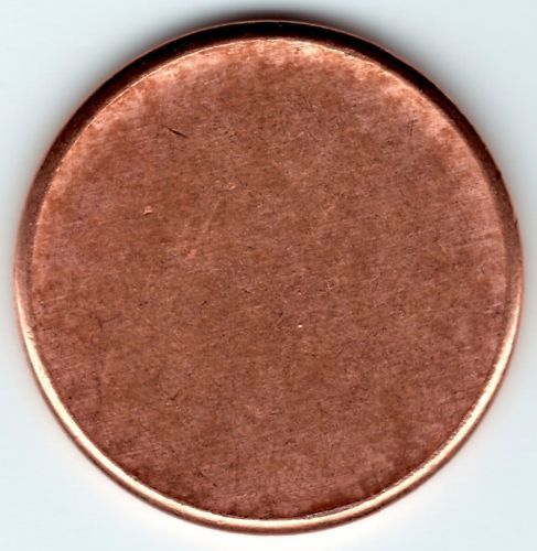 Blank Lincoln Penny Planchet Mint Error Coin Very Cool Ebay