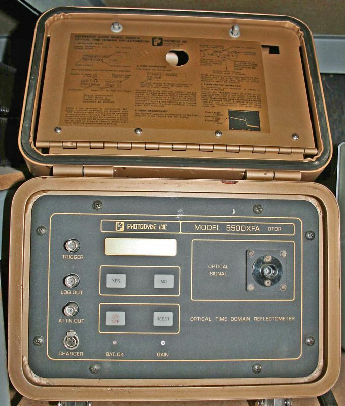 Time Domain Reflectometer : Photodyne optical time domain reflectometer xfa ebay