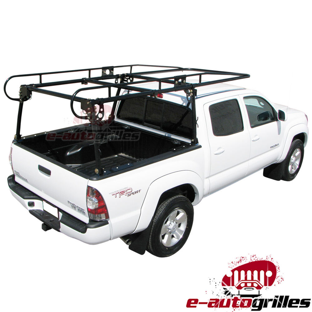 Compact Contractor Pickup Truck Tool Ladder Lumber Rack