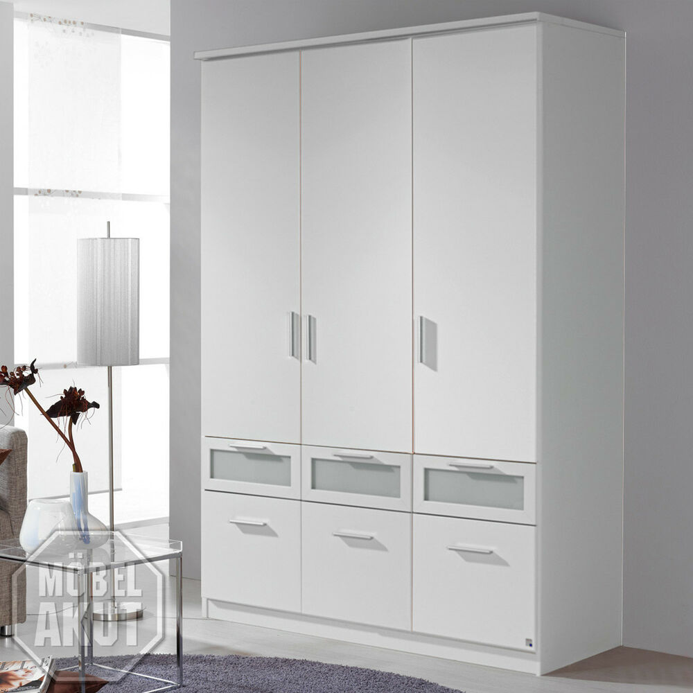 kleiderschrank bochum dreht renschrank schrank in wei und milchglas 136 cm ebay. Black Bedroom Furniture Sets. Home Design Ideas