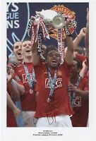 Anderson Lifting Trophy Manchester Utd SIGNED AUTOGRAPH AFTAL