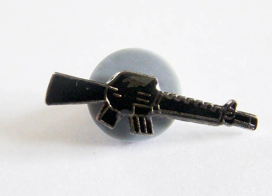 machine gun novelty push pin lapel pin ebay. Black Bedroom Furniture Sets. Home Design Ideas