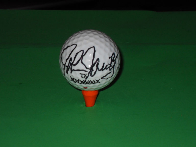 john jacobs signed golf ball pga ebay. Black Bedroom Furniture Sets. Home Design Ideas