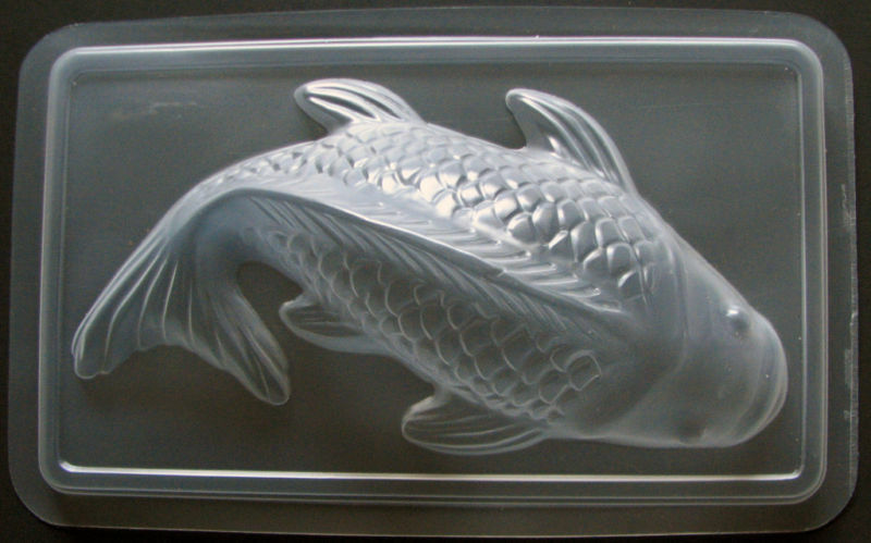 vintage big koi fish jelly pudding chocolate candy mold ebay