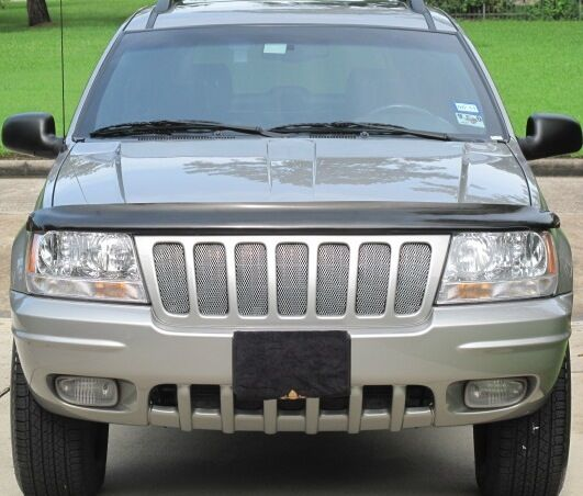 CHROME MESH GRILLE GRILL KIT For JEEP GRAND CHEROKEE 04
