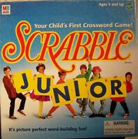 SCRABBLE JUNIOR  YOUR CHILD'S FIRST CROSSWORD GAME