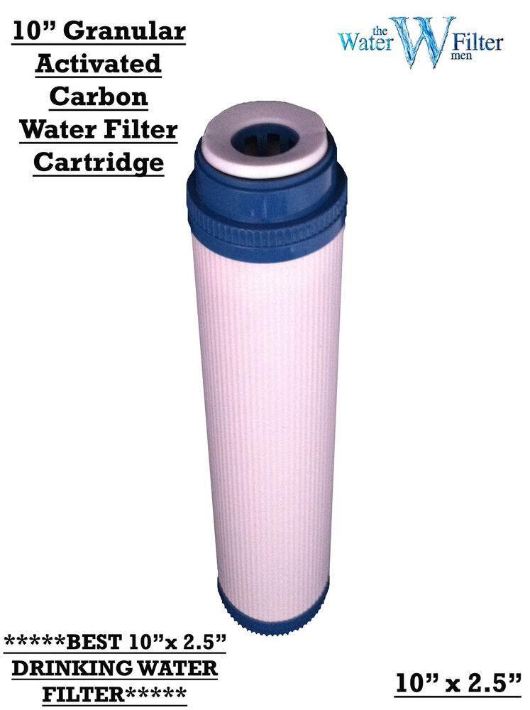 Granular Activated Carbon Water Filter Ro Filters 10 Quot Ebay