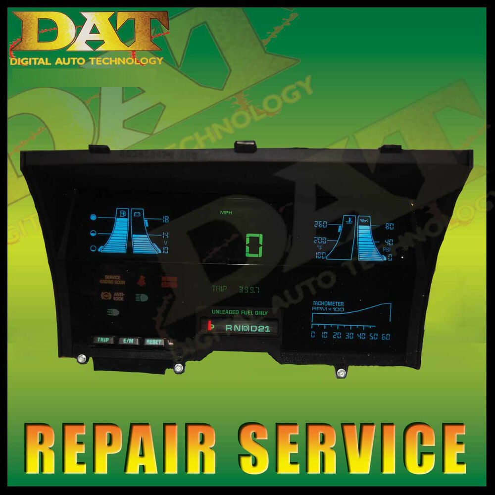 89 90 91 92 93 94 S10 Blazer Digital Cluster Repair