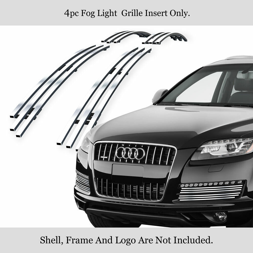 fits audi q7 bumper billet grille insert 07 11 2011 ebay. Black Bedroom Furniture Sets. Home Design Ideas
