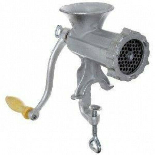 Hand Meat Grinders For Home Use ~ Cast iron manual meat grinder mincer table hand crank ebay