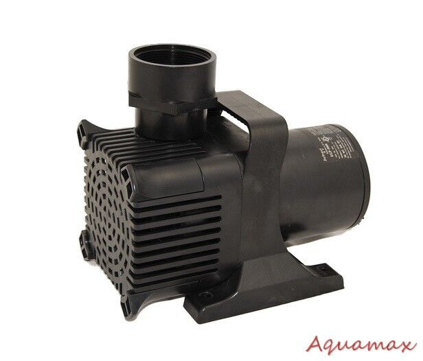 7500 gph commercial submersible water pump for fish pond for Yard pond pumps