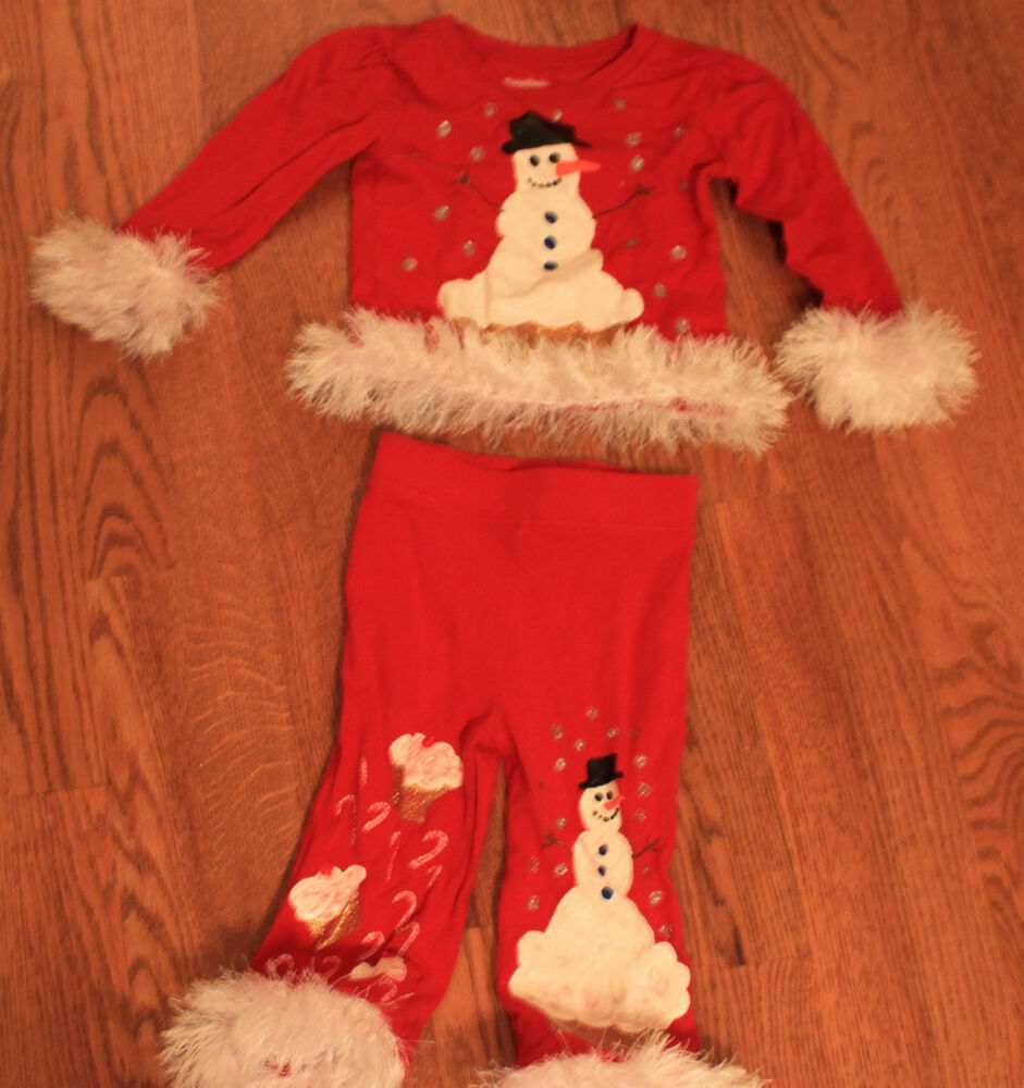 Adorable custom christmas outfit size 12 18 m perfect for holiday