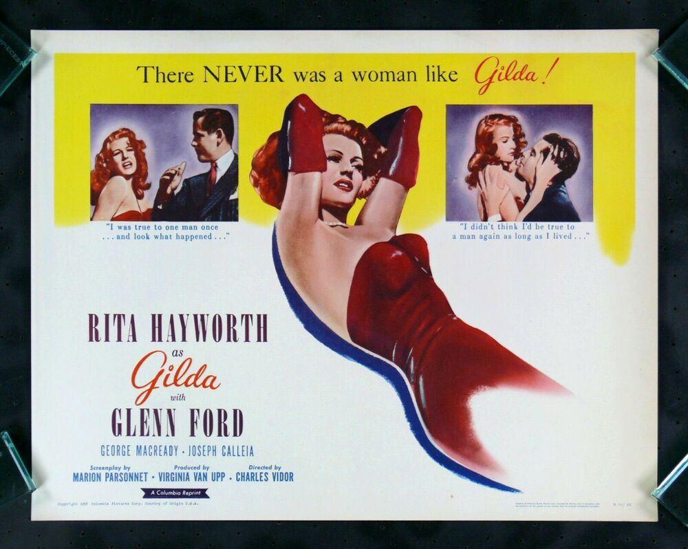 GILDA * CineMasterpieces RITA HAYWORTH CLASSIC HOLLYWOOD ...