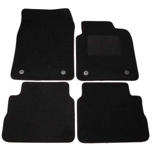 vauxhall vectra tailored car mats 2003 2008 black ebay. Black Bedroom Furniture Sets. Home Design Ideas