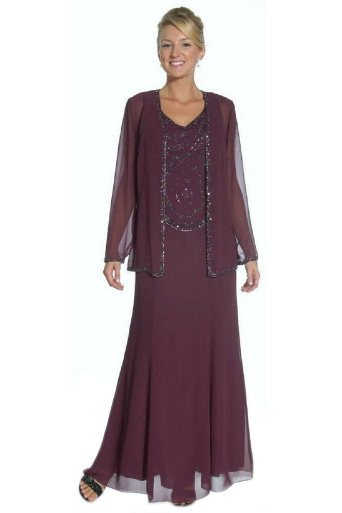 Formal modest mother of the bride groom dress jacket Plus size designer clothes uk