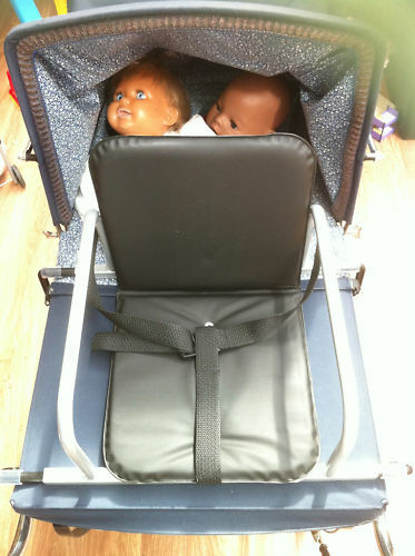 Coach Built Dolls Pram Seat For Silver Cross Oberon Ebay