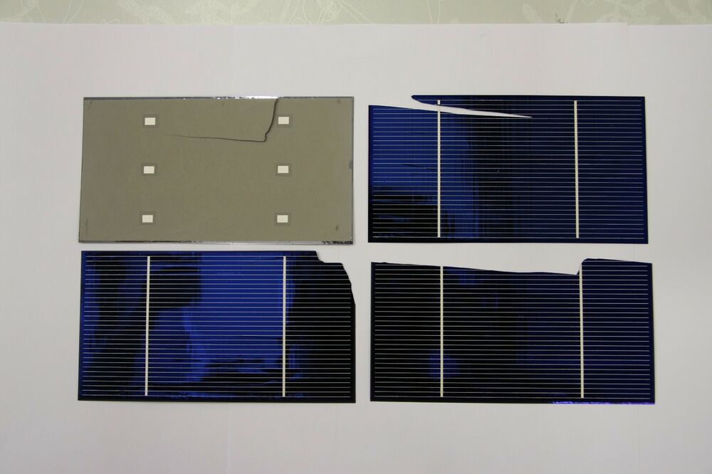 4kw Almost Whole Broken 3x6 Solar Cells Diy Solar Panel Ebay