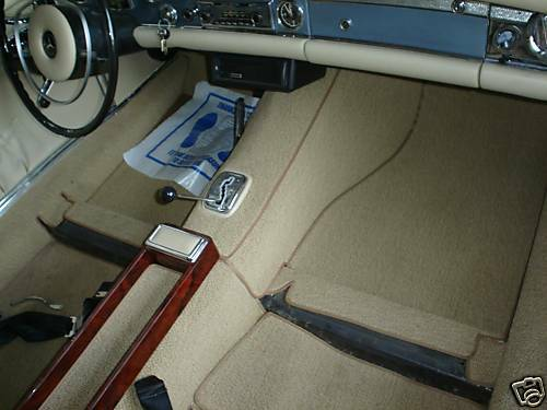 Mercedes benz w113 230sl 250sl 280sl carpet kit 1963 71 ebay for Mercedes benz 280sl parts
