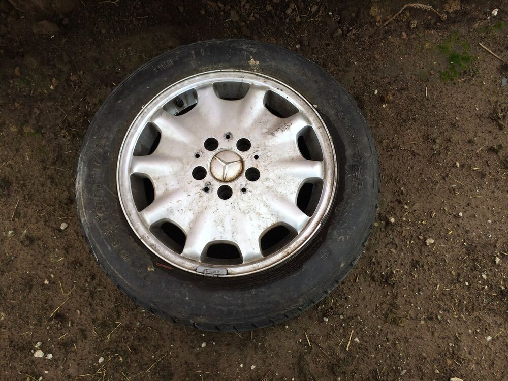 Mercedes benz w210 e320 e300 wheel rim tire original ebay for Rims and tires for mercedes benz