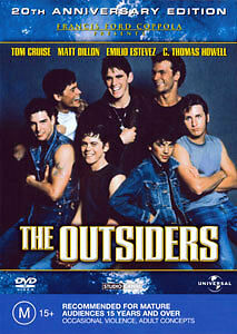 Patrick Swayze THE OUTSIDERS (20TH ANNIVERSARY EDITION ...