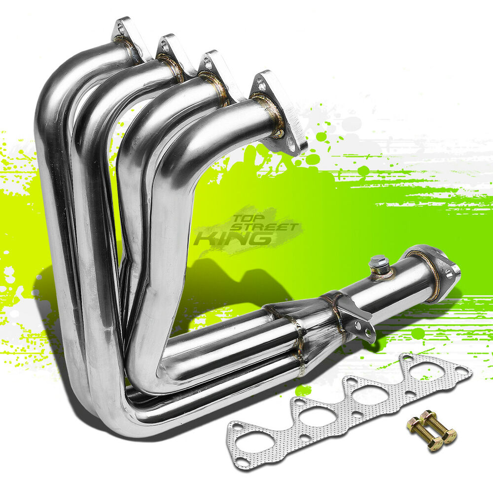 Stainless Racing Header Exhaust Dc2 Gsr Type R Civic Em
