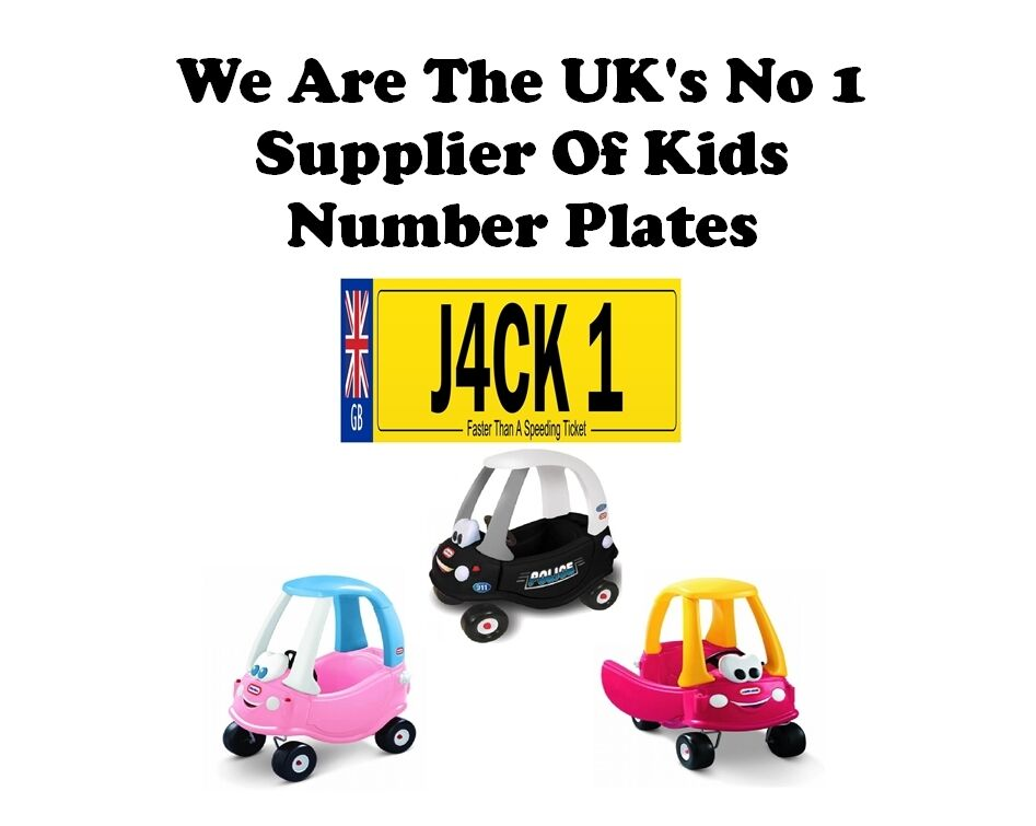 Personalised number plate for little tikes ebay for Little tikes 2 in 1 buildin to learn motor workshop
