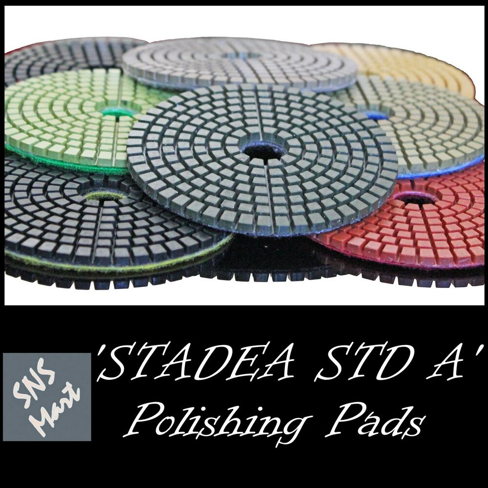 Stadea 5 Quot Diamond Polishing Pad Grit 100 For Granite