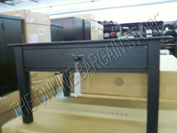 Pottery Barn Lucy Black Side Coffee Accent Table