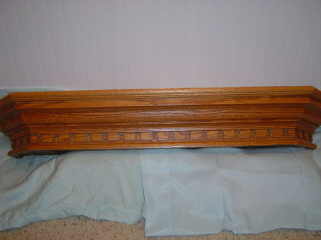 New handcrafted charleston oak fireplace mantel mantle