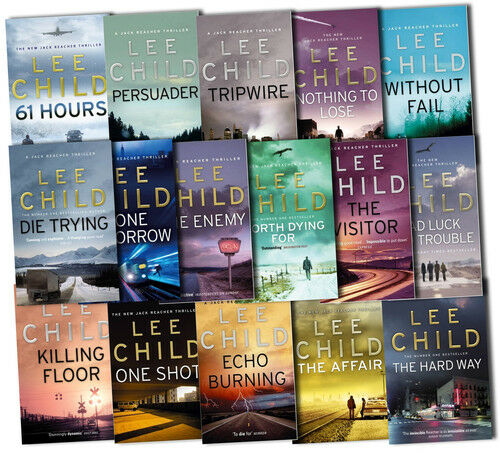 Lee Child Collection Jack Reacher Complete Series 16 Books Set The Affair  New | EBay