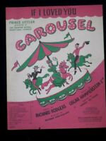 IF I LOVED YOU   50's  sheet music CAROUSEL
