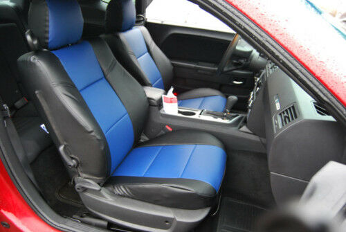 dodge challenger 2009 2012 leather like seat cover ebay. Black Bedroom Furniture Sets. Home Design Ideas