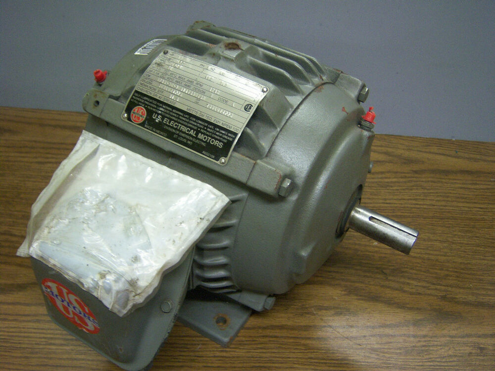 Emerson us electrical motor type jadn 1 hp 460v for Types of electric motors