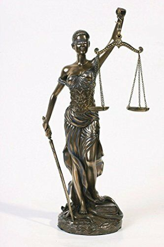 brand new blind lady scales justice lawyer statue attorney