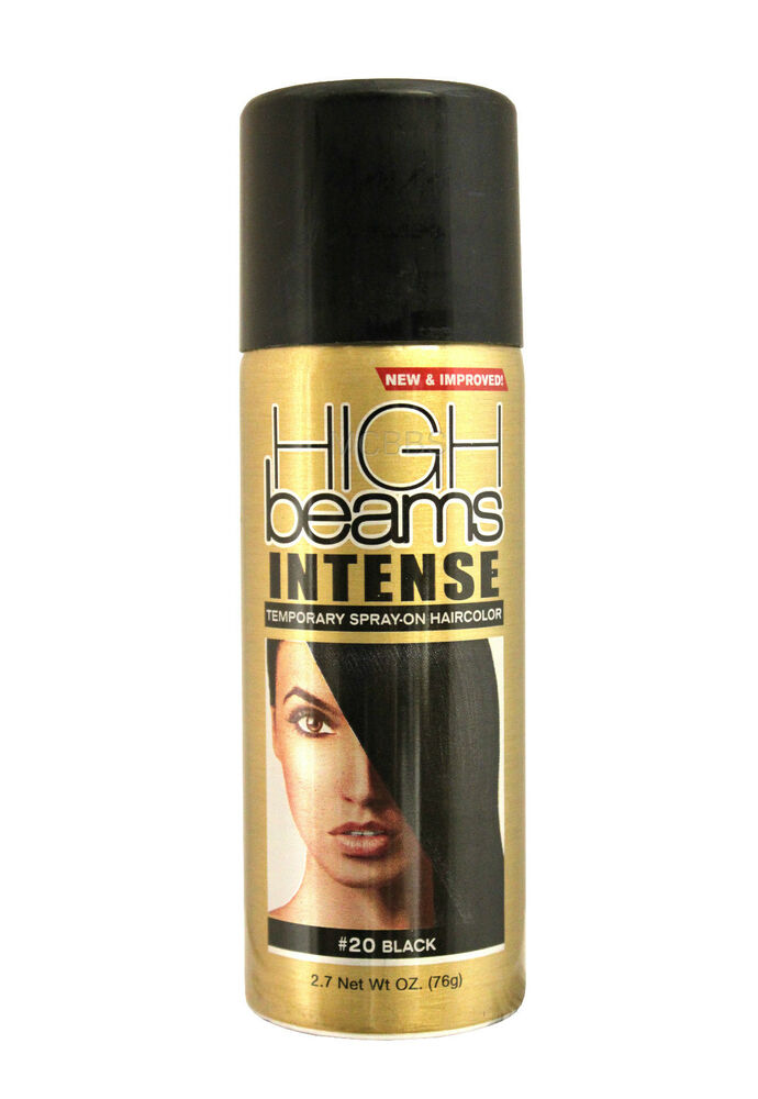 High Beams Temporary Spray On Hair Color 5 Colors 3 Oz