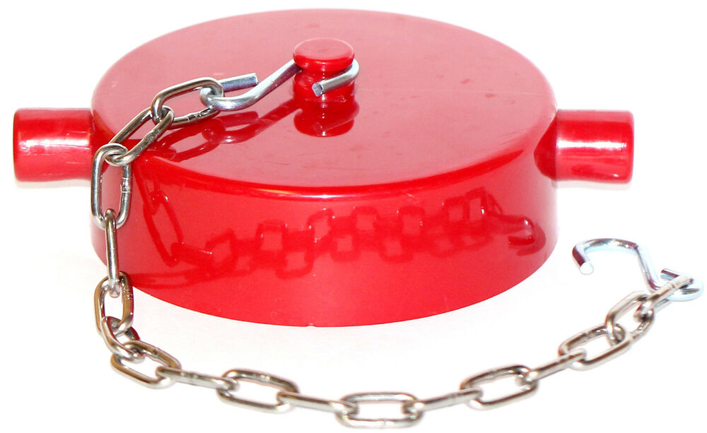 Quot nst fire hose valve hydrant standpipe cap and chain